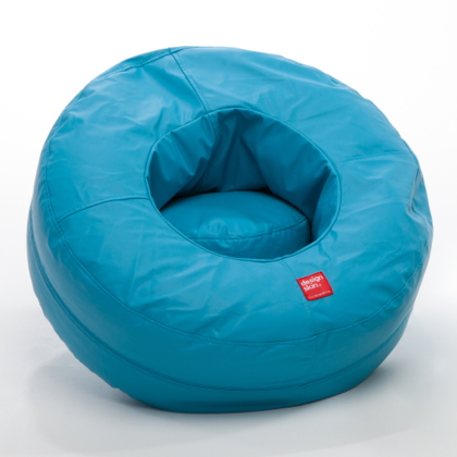 Donut Design beanbag footstool for kids