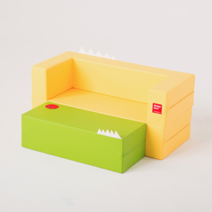 Longcake design seat sofa for toddlers and kids