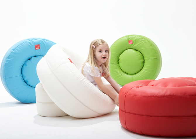 designskin Donut beanbag 4 colors with kid